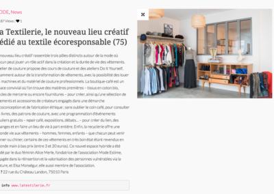 La Textilerie, le nouveau lieu créatif dédié au textile écoresponsable (75)