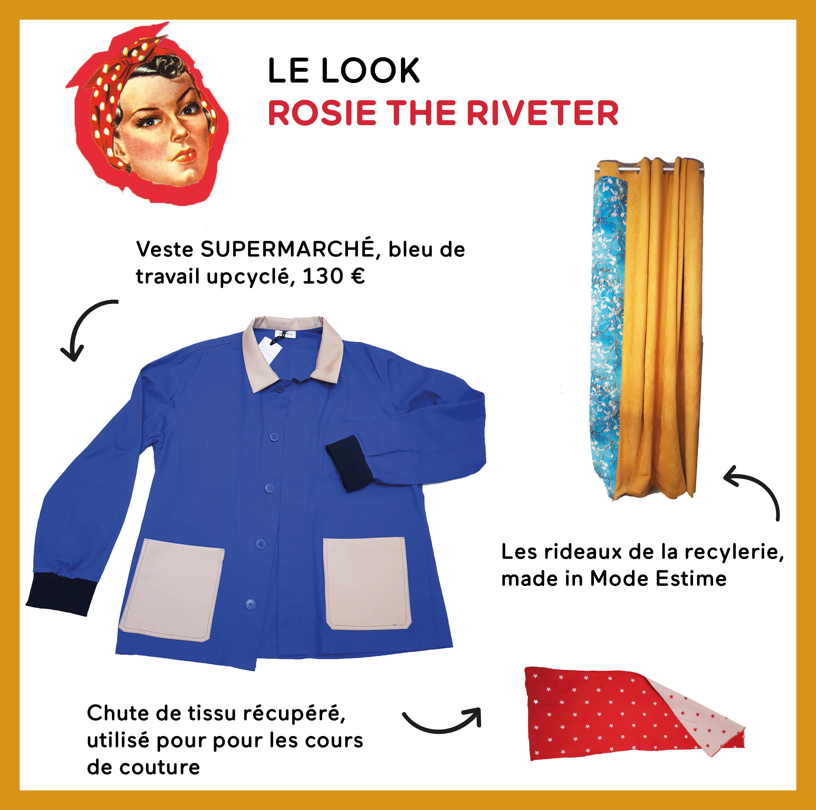 Le Look ROSIE THE RIVETER
