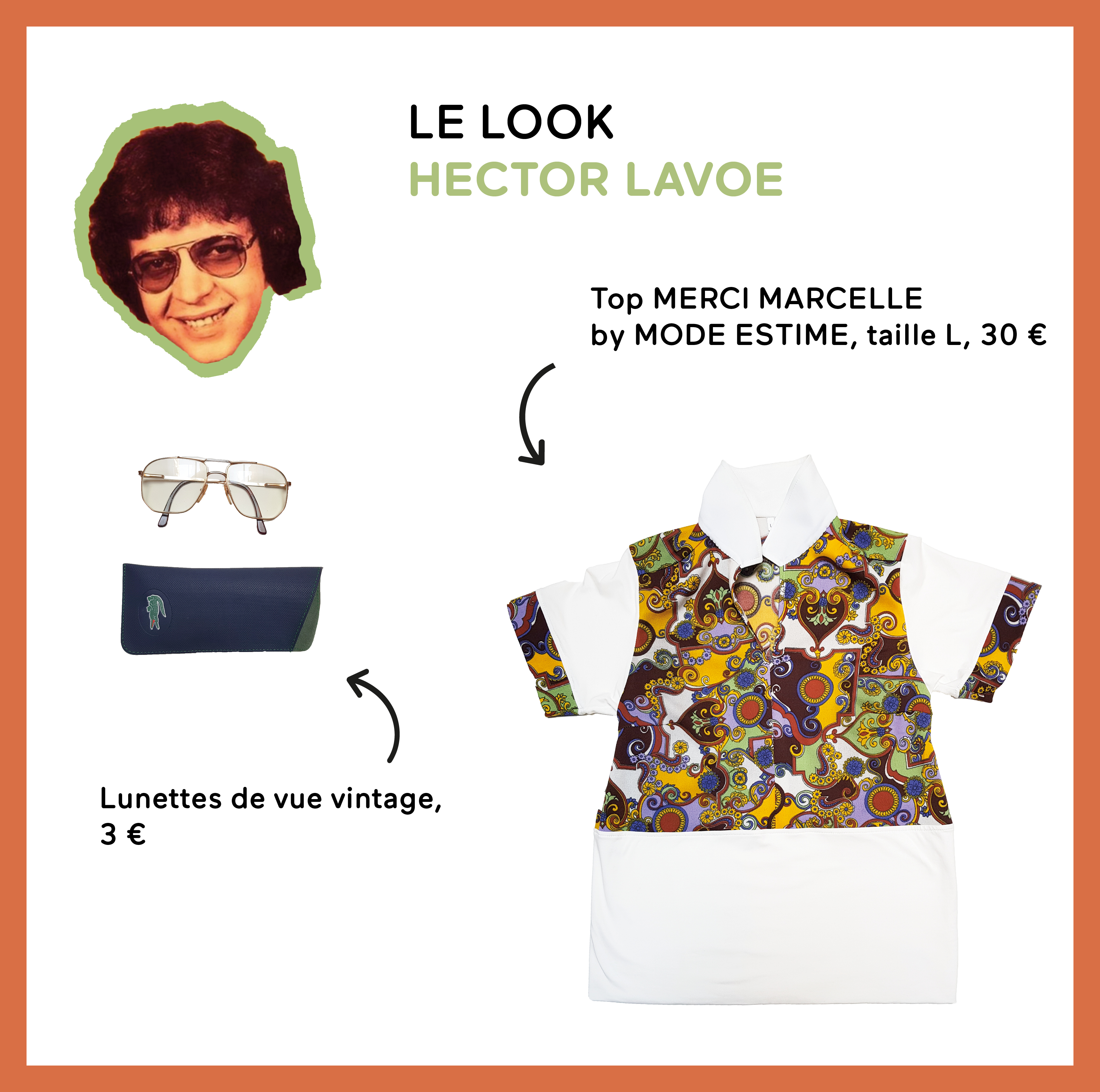 Le look Hector Lavoe