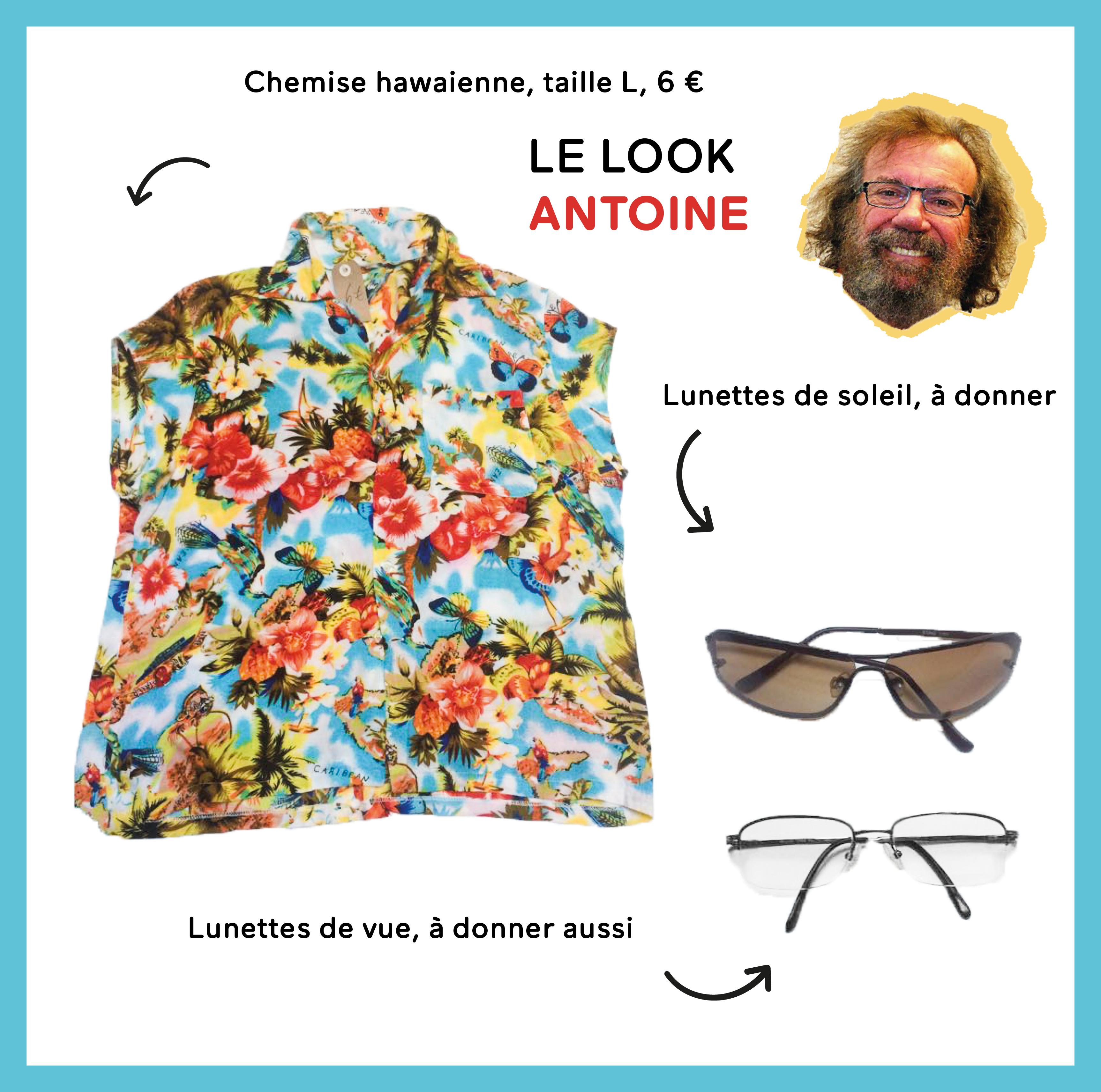 Le look Antoine