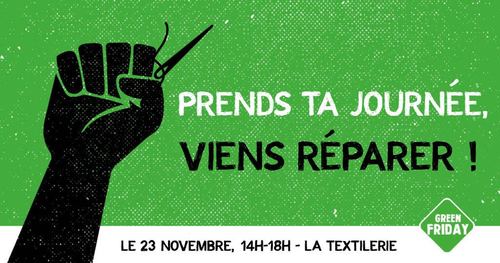 Vendredi 23 novembre : journée spéciale Green Friday