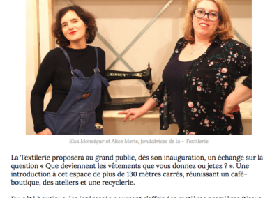 Une boutique hybride dédiée au recyclage ouvre à Paris