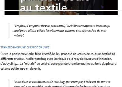 Fripes, recyclerie, DIY... La Textilerie, nouveau lieu parisien de la mode éthique
