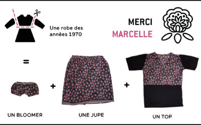 MERCI MARCELLE / nouvelle collection upcycling