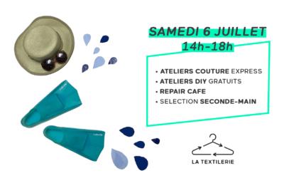 Splash ! Samedi 6 juillet à La Textilerie