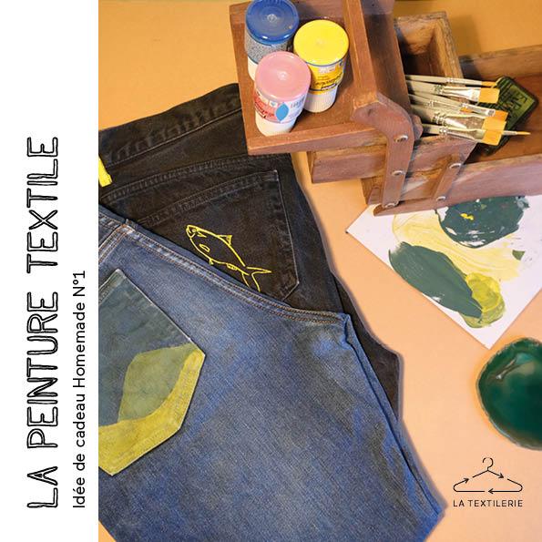 Customiser un vêtement avec de la peinture textile